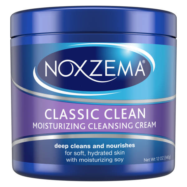 Noxzema Classic Clean Moisturizing Cleansing Cream - 12oz