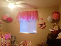 Pink Ruffle Curtain Topper by Tutu Curtain Valance For Little Girls Room My Baby