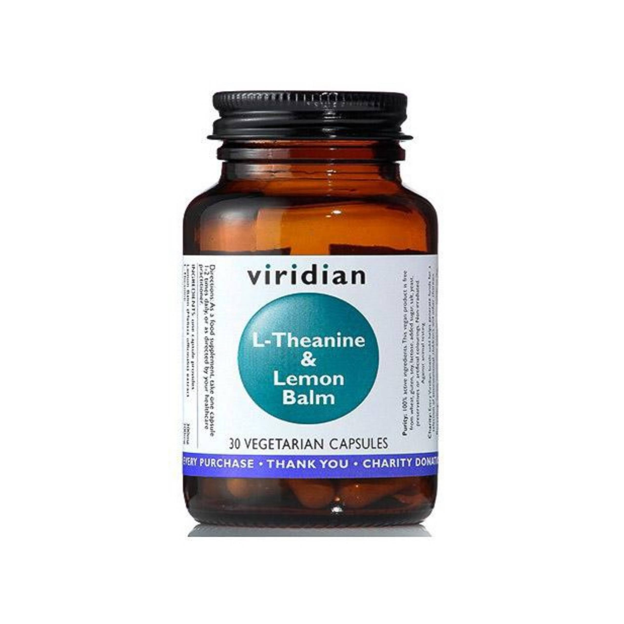 Viridian L-Theanine & Lemon Balm