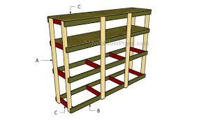 how to build garden shelves myoutdoorplans free woodworking