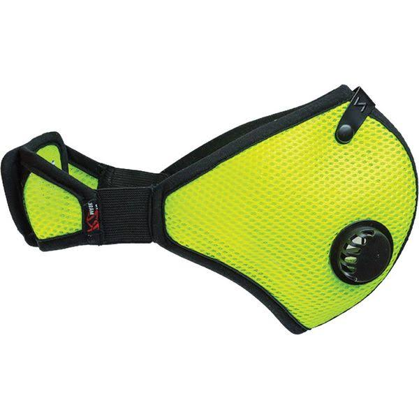 RZ Mask 45215 Mesh Adult Masks - Safety Green