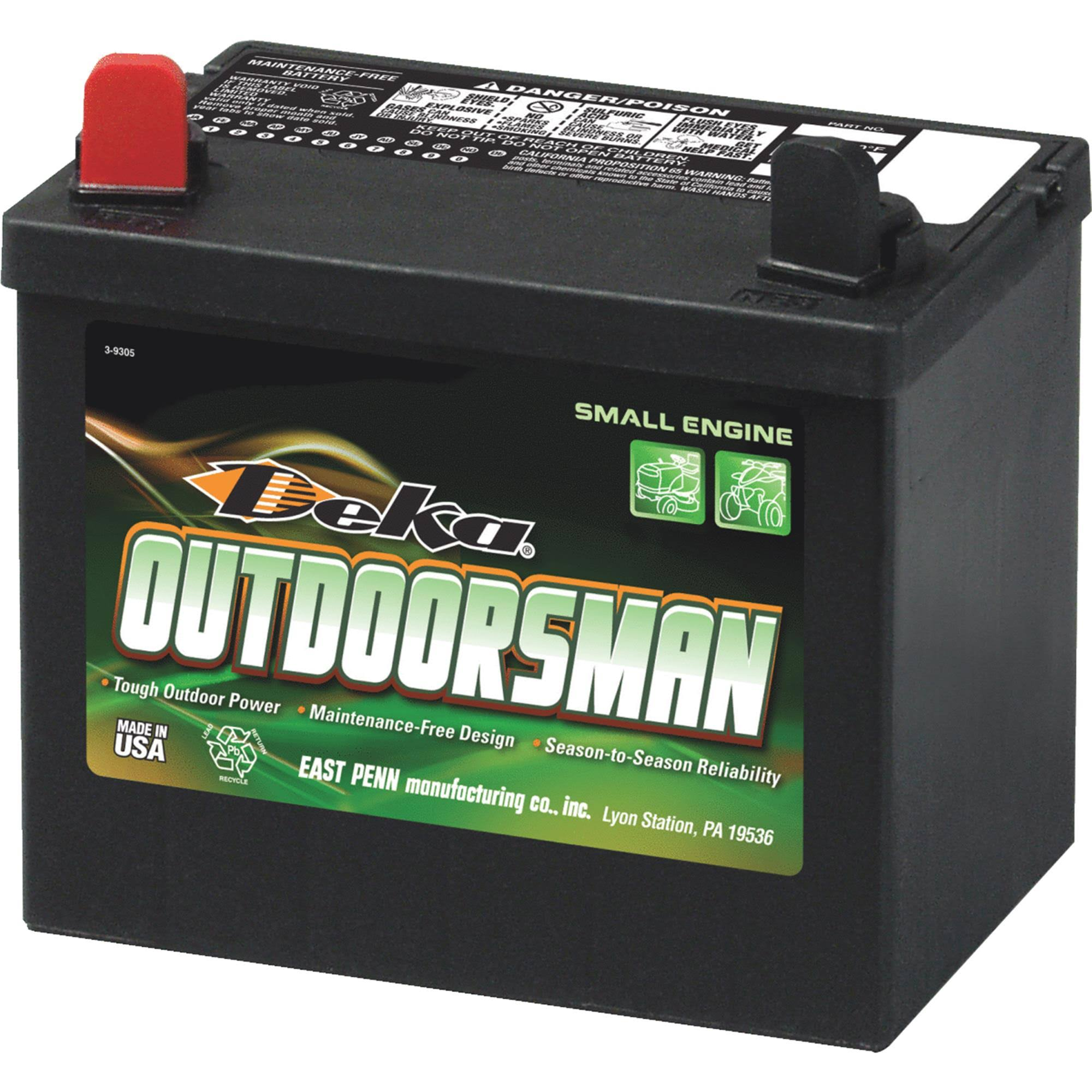 Deka Outdoorsman Small Engine Battery - 10U1L