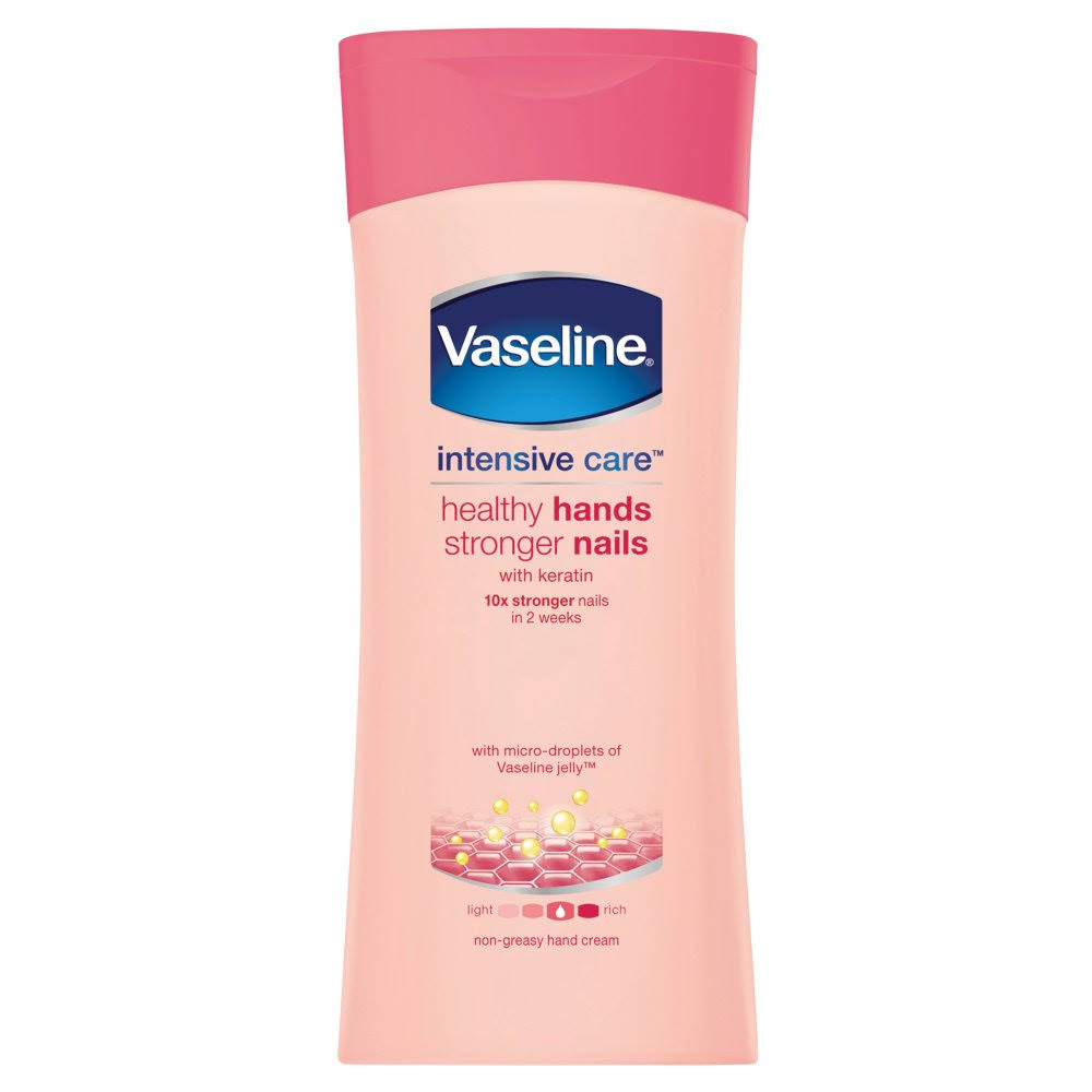 Vaseline Healthy Hands Stronger Nails Hand Cream - 200ml