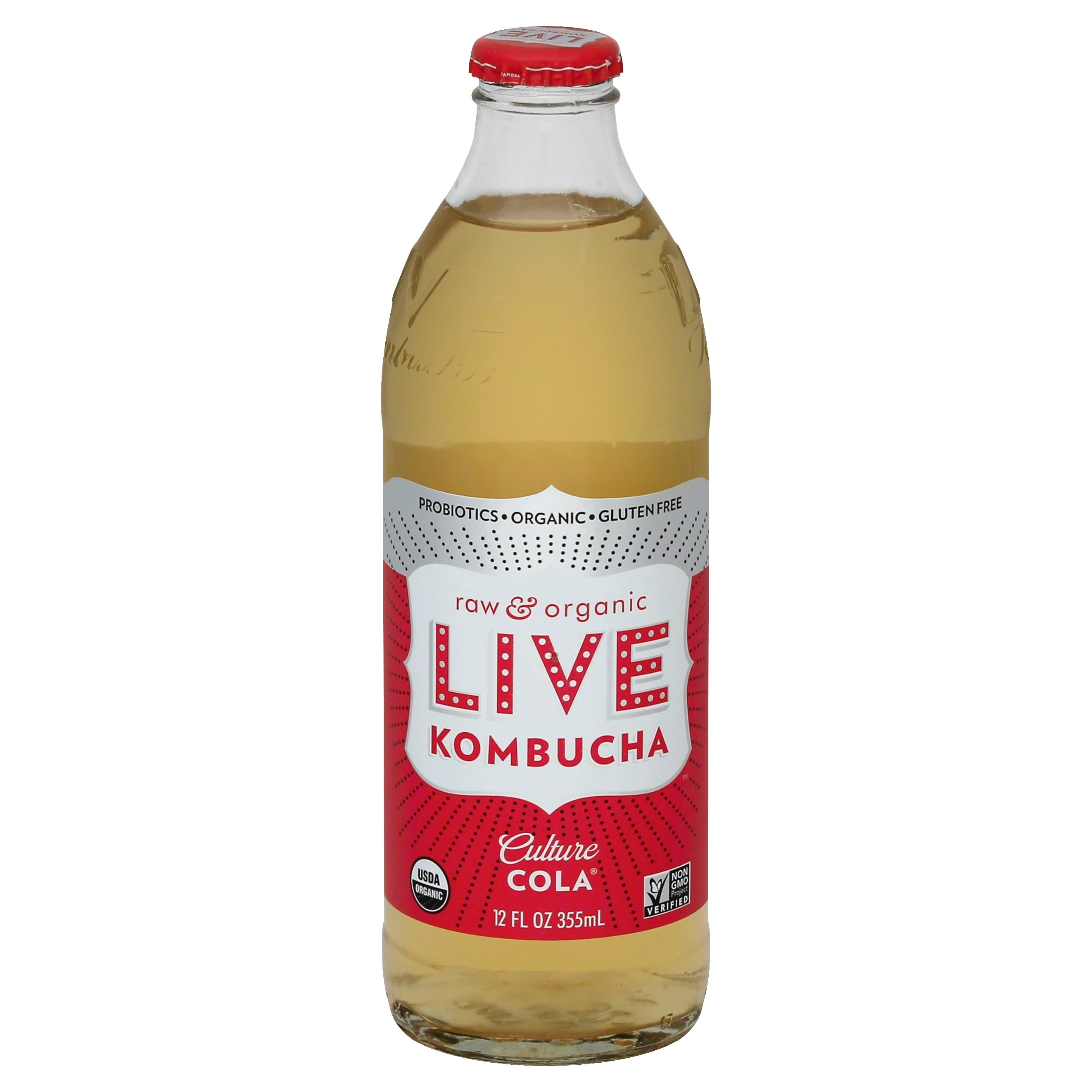 Live Soda Culture Cola Kombucha - 12 fl oz bottle