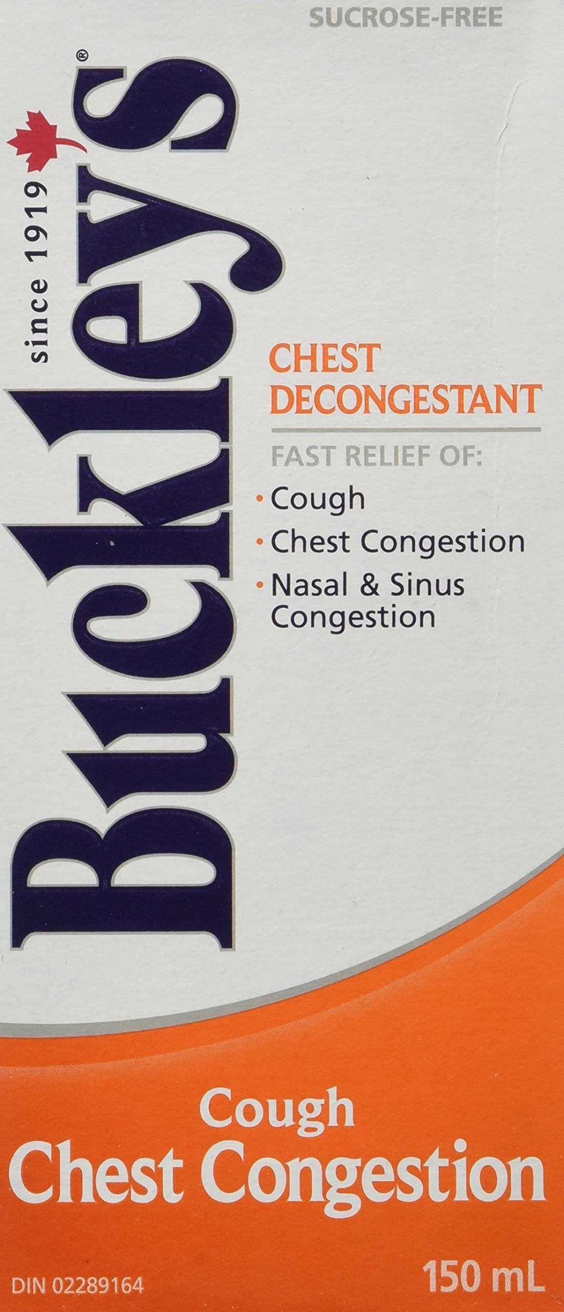 Buckley's Chest Decongestant Cough Syrup - 150ml