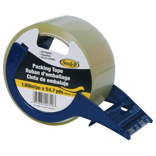 "Seal-It Packing Tape - 1.88""x54.7yds, with Dispenser"