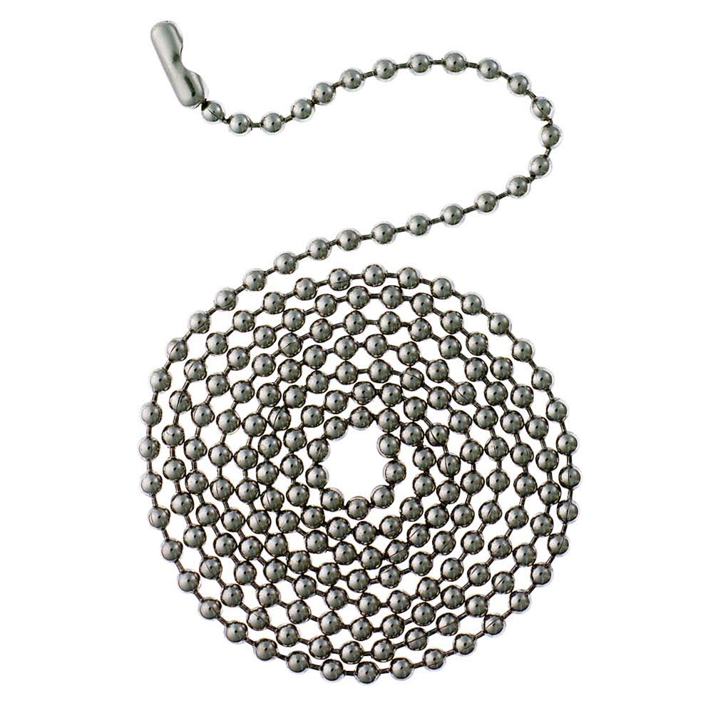 Westinghouse Lighting Stainless Steel Beaded Chain - 3'