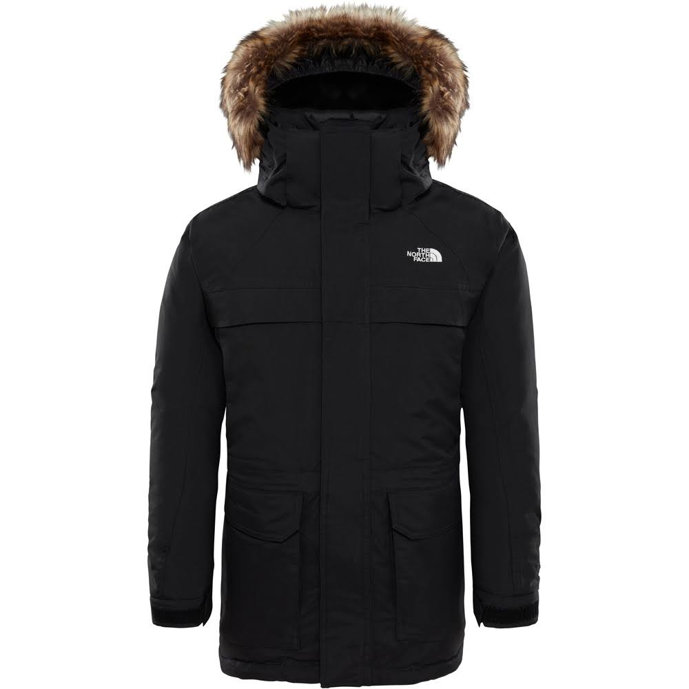 The North Face Boys 'McMurdo' Down Parka - Black