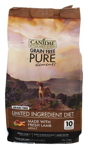 Canidae Grain Free Pure Elements Dry Formula Dog Food - Lamb