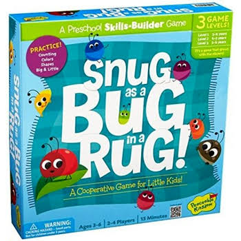Snug as a Bug in a Rug Cooperative Skills-Builder Game