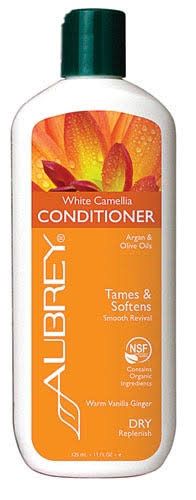 Aubrey Organics White Camellia Ultra Smoothing Conditioner - 11oz