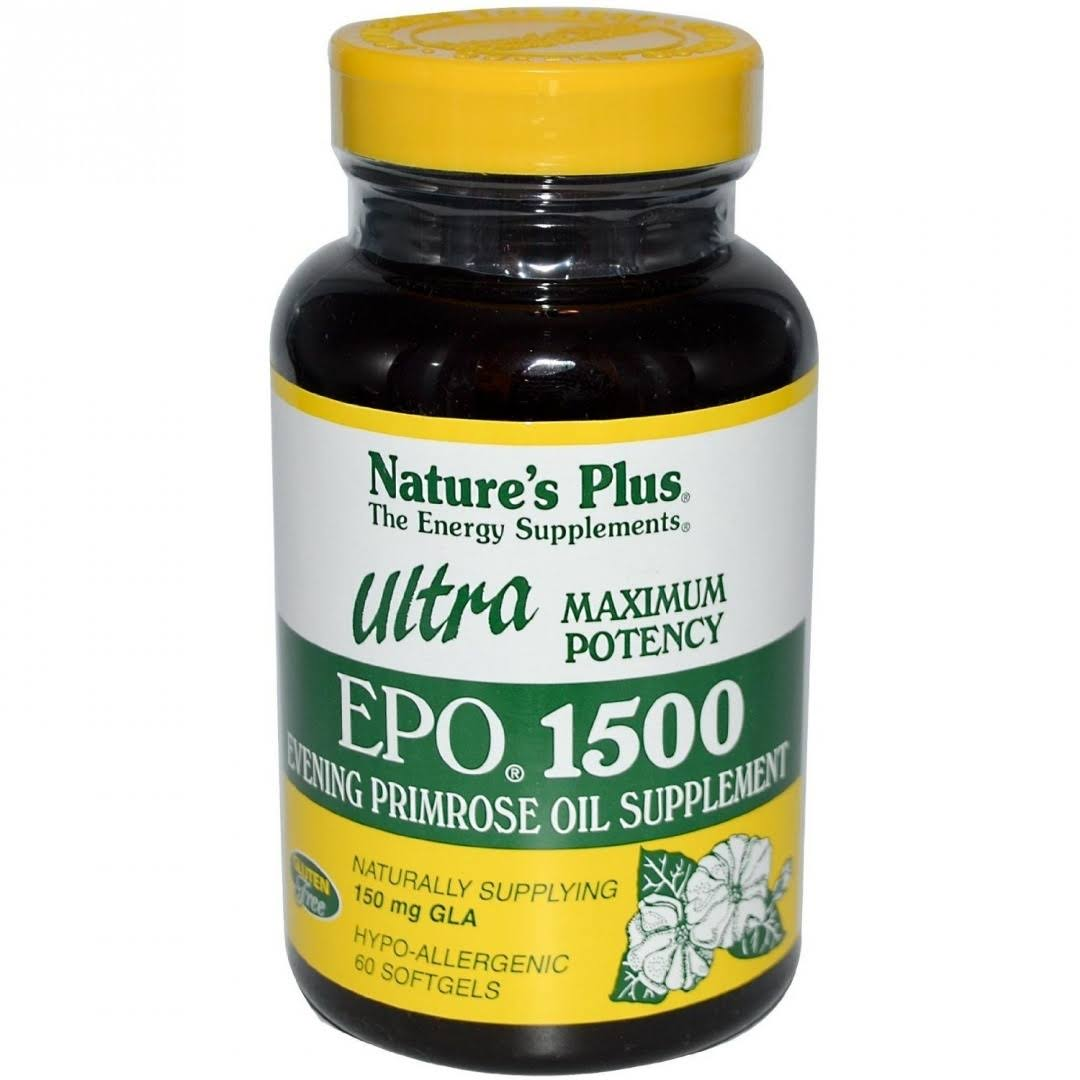 Nature's Plus Ultra Epo 1500 Oil Supplement - 150mg, 60ct