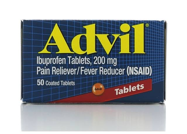 Advil Ibuprofen Tablets - 200mg, 50ct