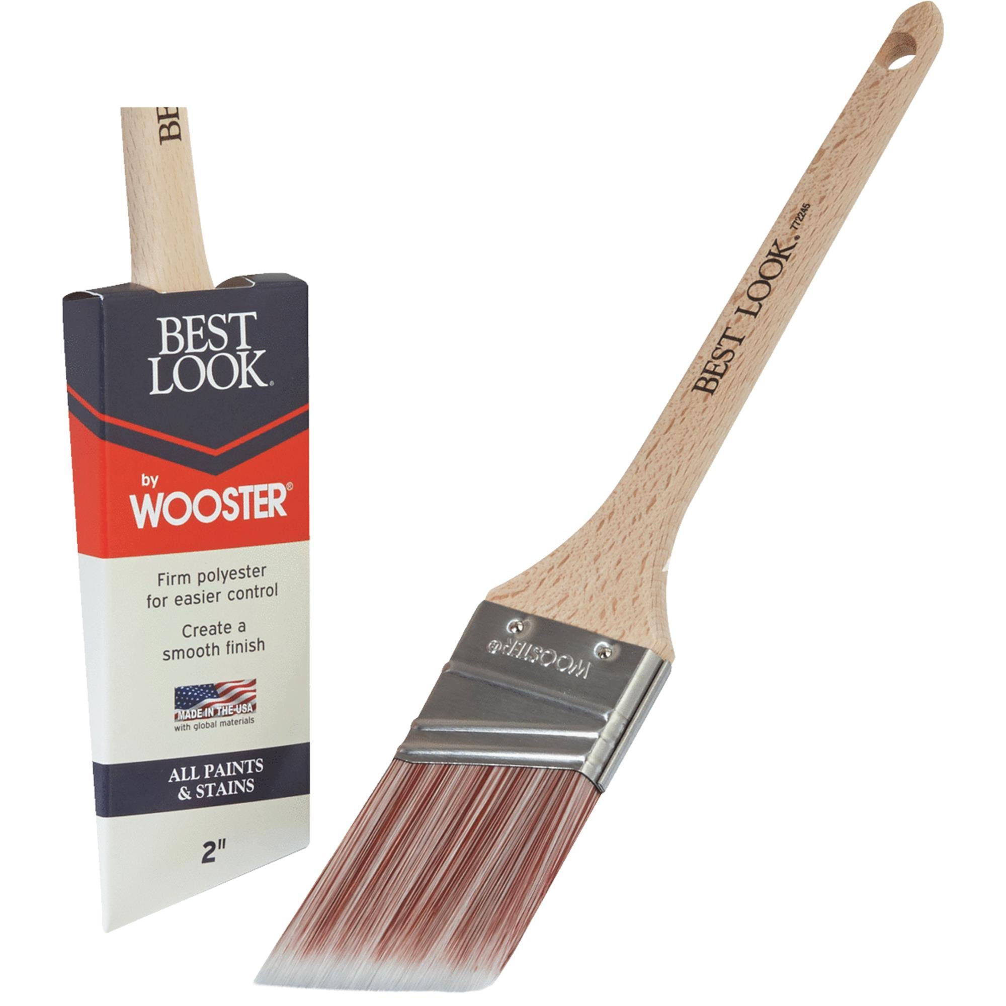 Best Look by Wooster Polyester Paint Brush - D4021-2