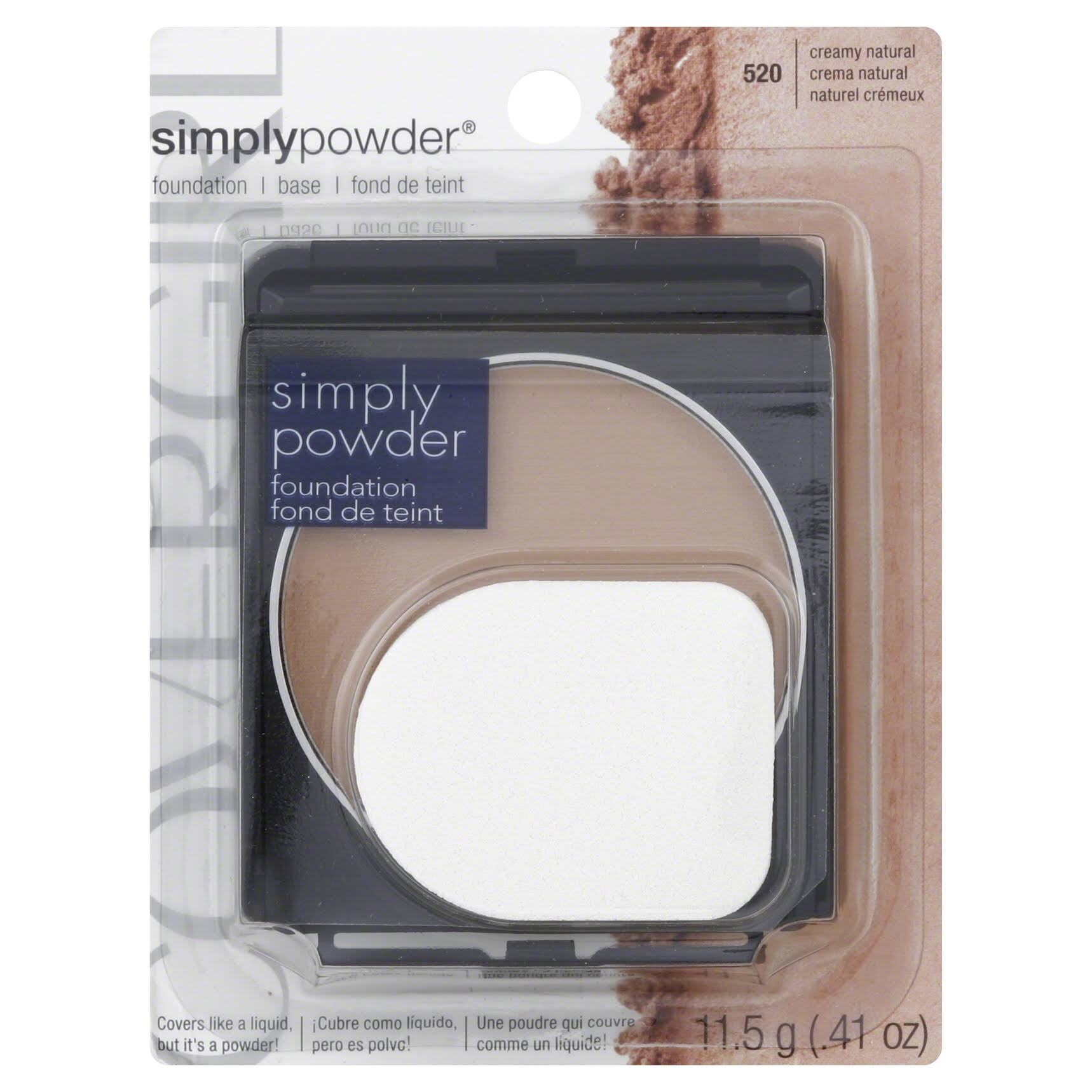 CoverGirl Simply Powder Foundation - Creamy Natural