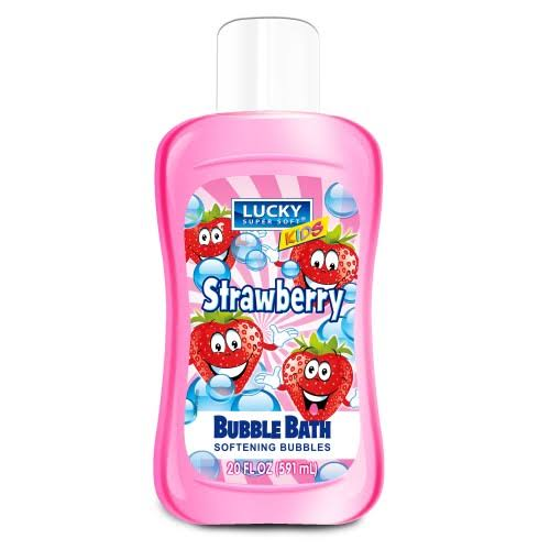 Lucky Supersoft Bubble Bath for Kids, Strawberry 20FL oz