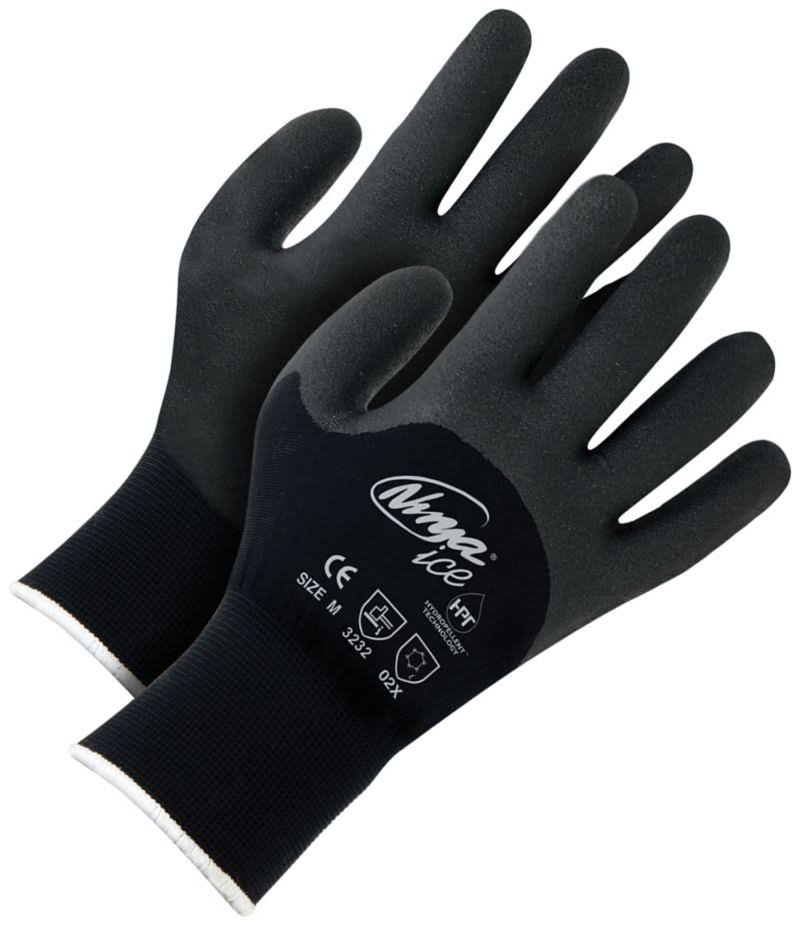 Ninja Ice Gloves - Black, Large