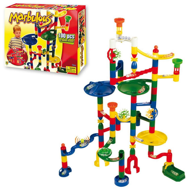 Edushape Marbulous Marble Run Set - 100pcs