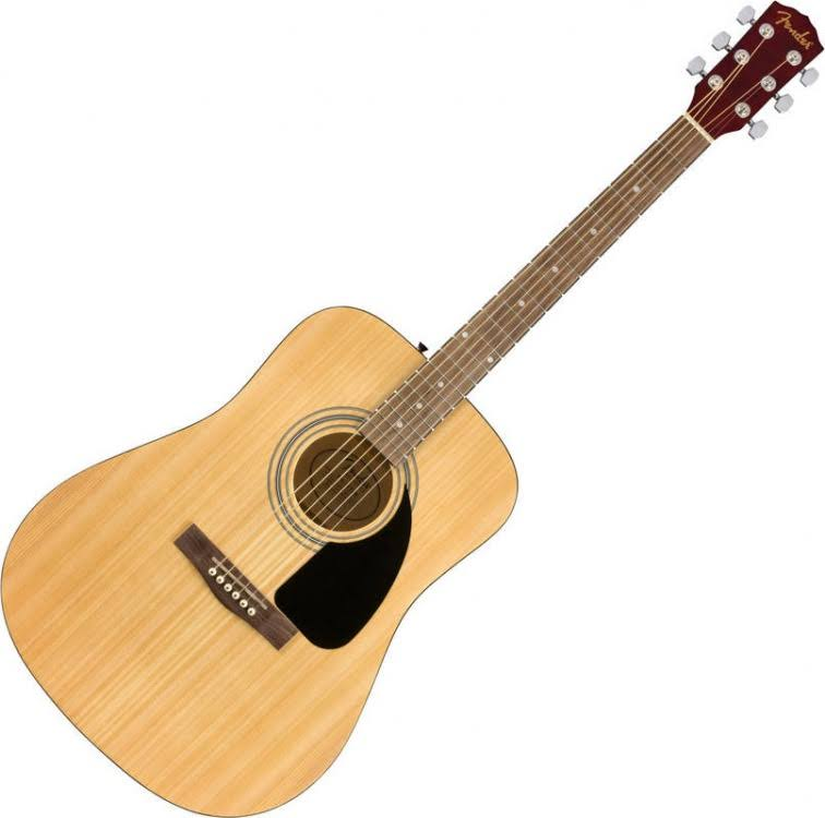 Fender Pk Natural Acoustic Guitar Pack