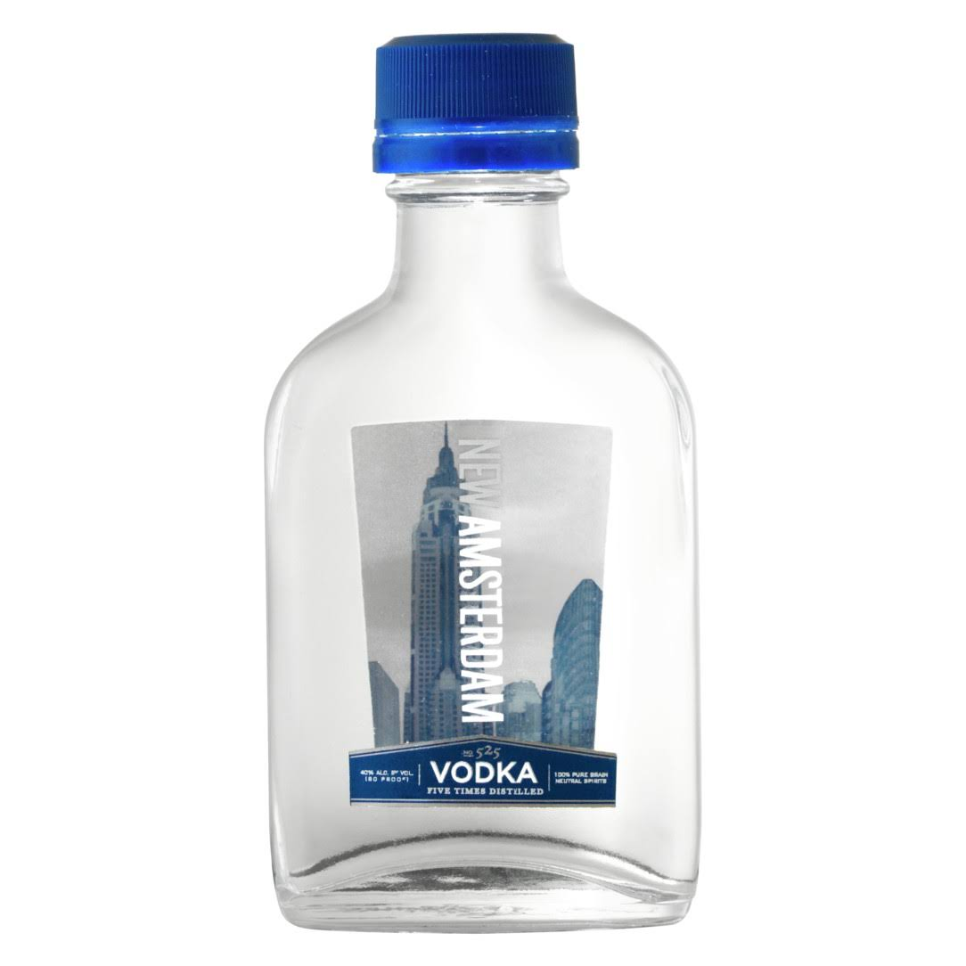 New Amsterdam Vodka - 100ml Bottle, Size: 100 ml