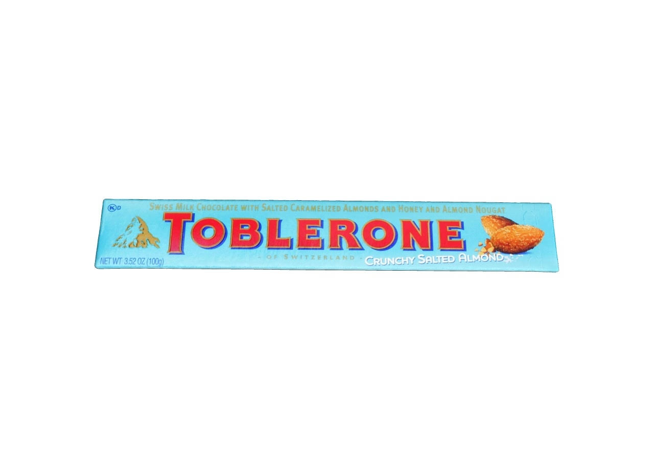 Toblerone Milk Chocolate - Crunchy Salted Almond