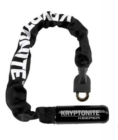 "Kryptonite Keeper 755 Integrated Chain Lock - 21.5"", Black"
