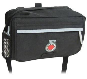 Banjo Brothers Handlebar Bag - Black, Medium