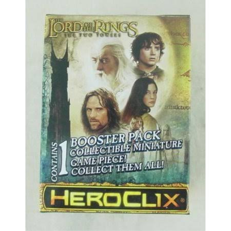 Lord of the Rings the Two Towers Heroclix Single Figure Booster Pack