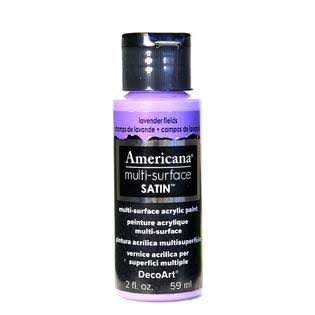 Decoart Americana Multi-Surface Satin - Lavender Fields, 59ml