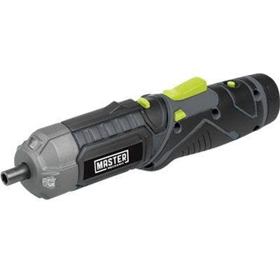 Master Mechanic 211899 Cordless Screwdriver, 4-Volt Lithium-Ion