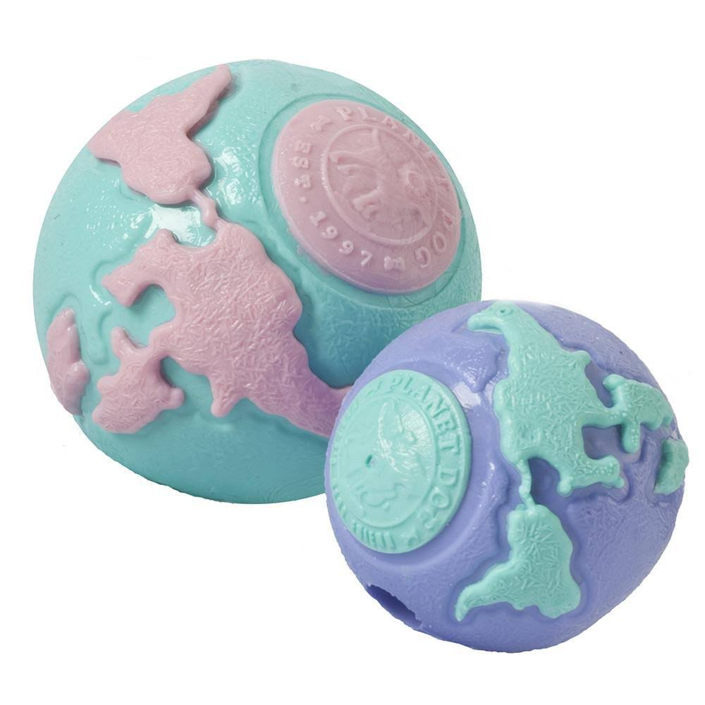 Planet Dog Orbee-Tuff Big Pup Orbee Ball - Teal & Pink