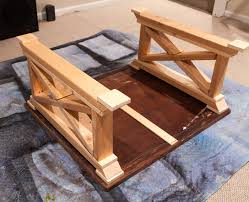 first build the two side trim pieces how to build an end table