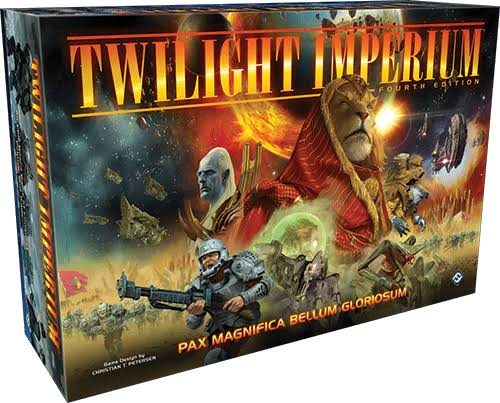 Twilight Imperium 4th Edition Board Game - with Soft Copy Rule Book