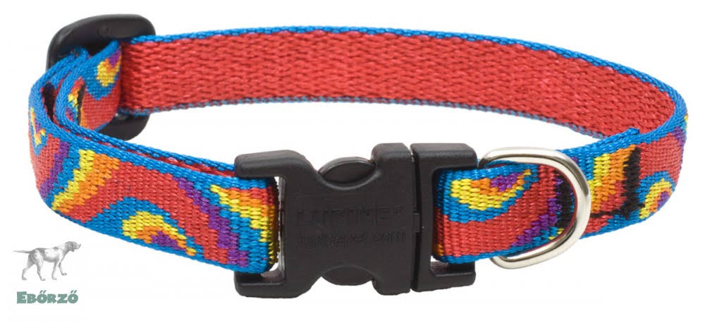 Lupine Lollipop Adjustable Dog Collar