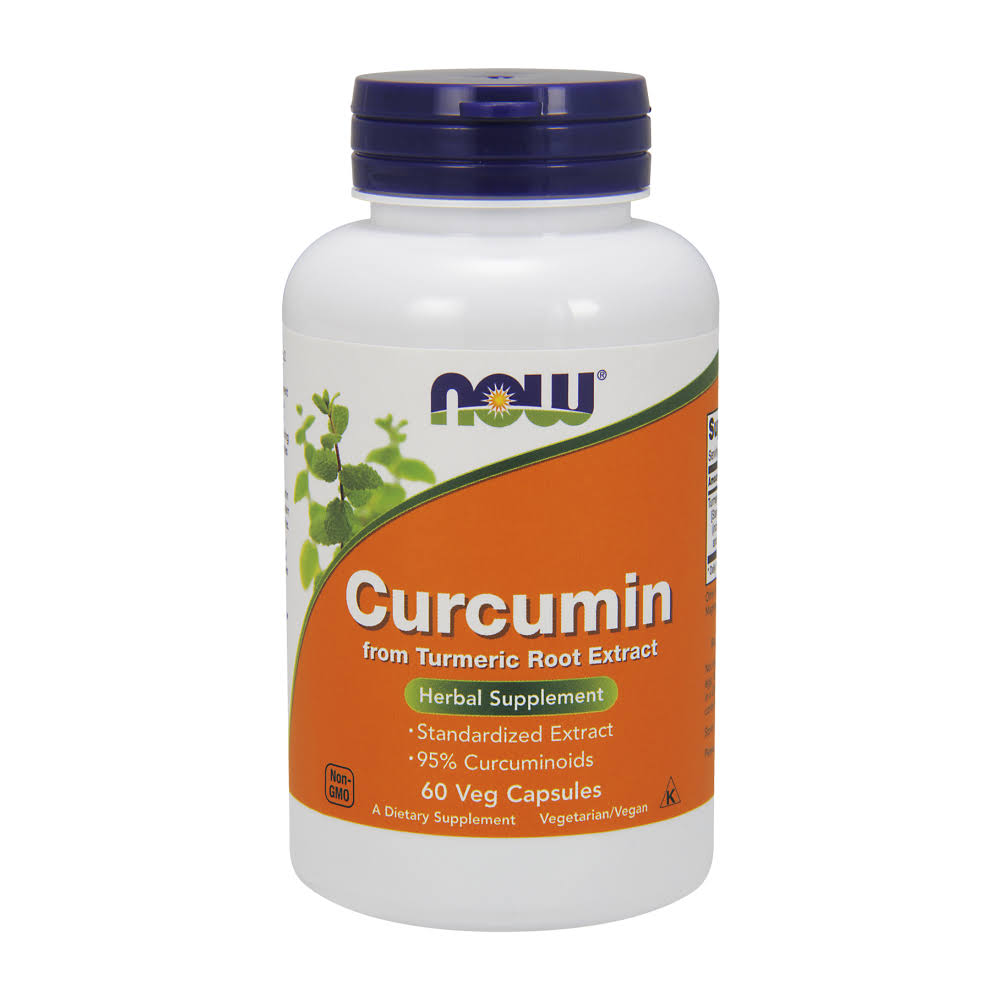 Now Foods Curcumin Turmeric Root Extract Capsules - 60 count
