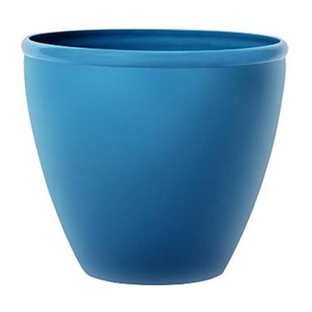 Suncast 1606n4 16 in. Blue Planter