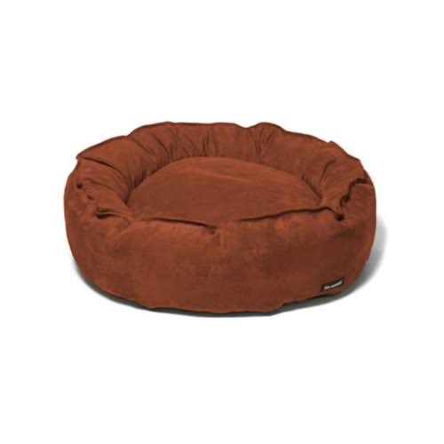 Big Shrimpy 7213 Nest Small Dog Bed - Truffle Suede