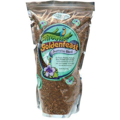 Goldenfeast Australian Blend Bird Food - 25oz