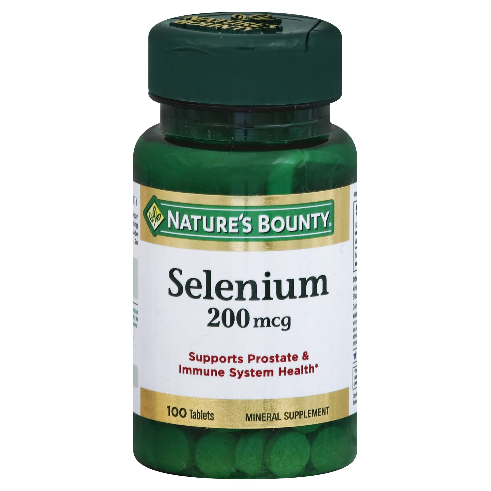 Natures Bounty Selenium Supplement - 200mcg, 100ct