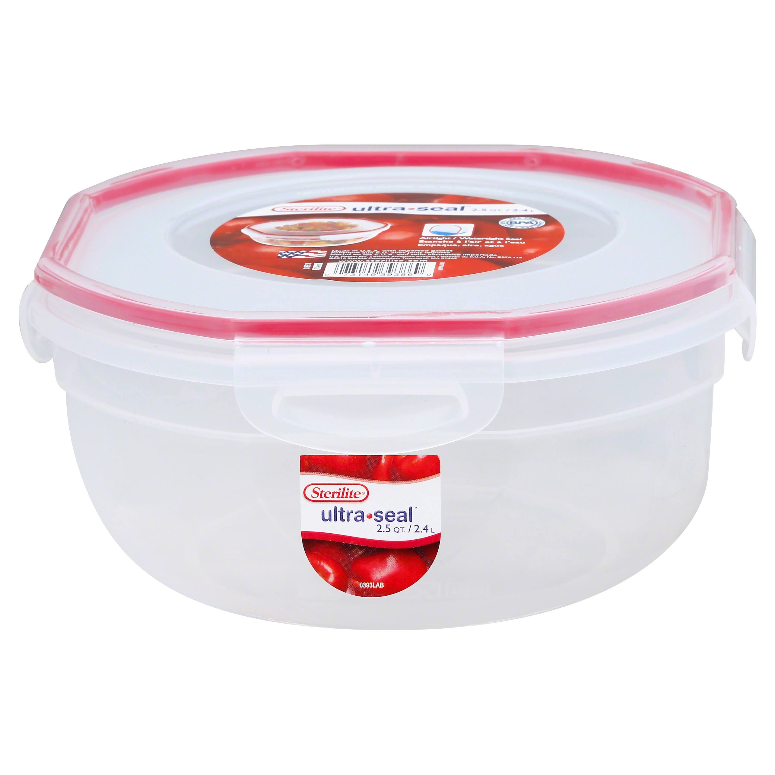 Sterilite Ultra Seal Food Storage Bowl - 2.5qt
