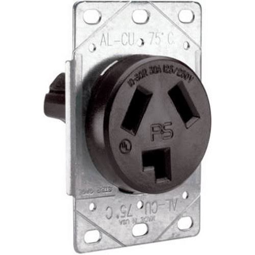 Pass & Seymour #3860CC6 30A Flush Outlet
