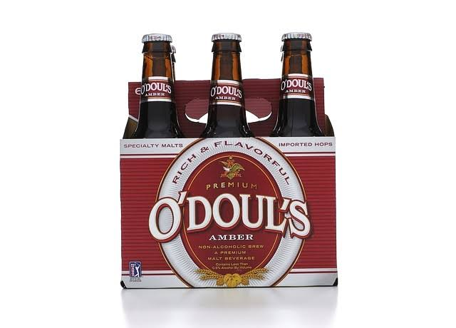 O'Doul's Amber Non-Alcohol Brew Malt Beverage - 6 Pack