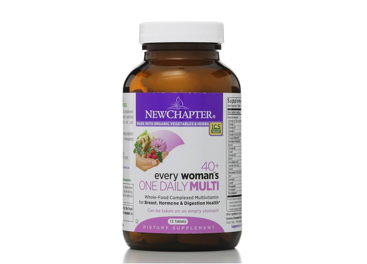 New Chapter Every Woman's One Daily Multivitamin - 72 Tablets