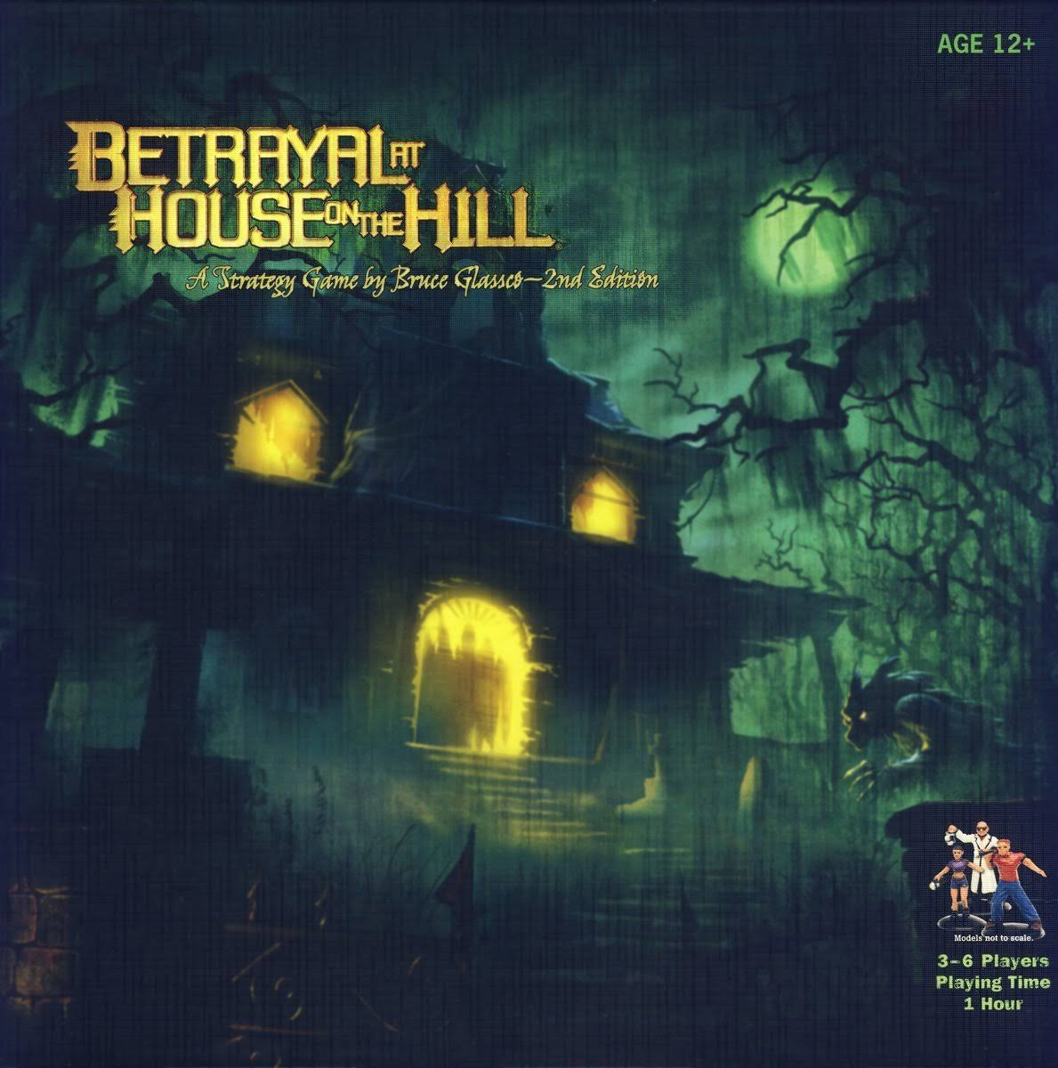 Wizards of The Coast 2nd Edition Betrayal at House on The Hill