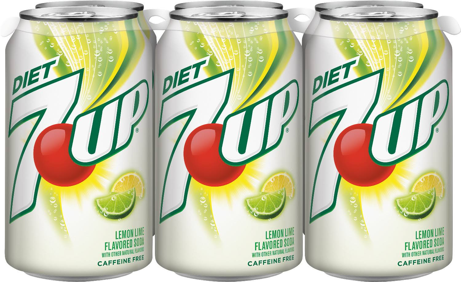 7 UP Diet Soda Can - 12oz