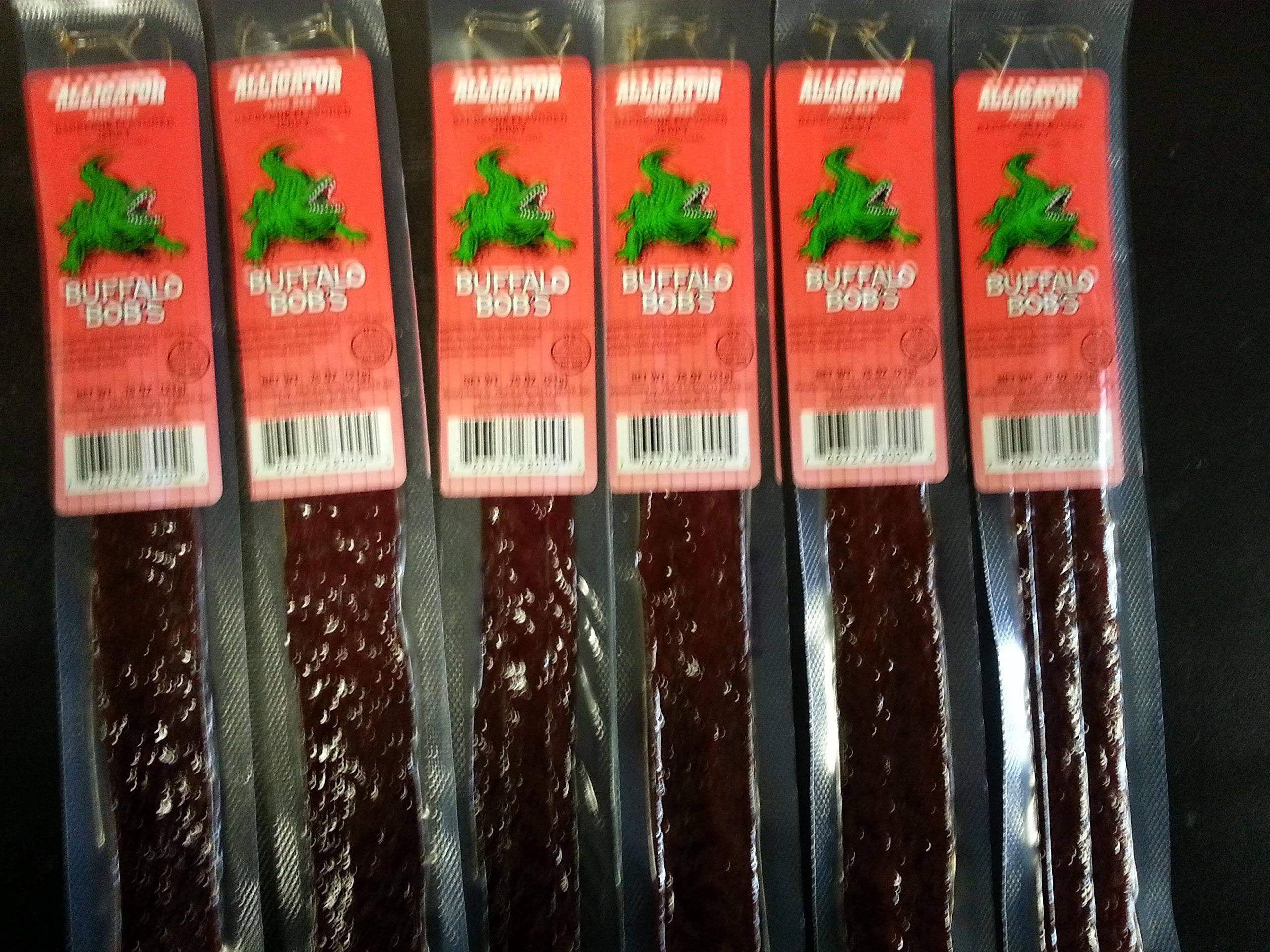 Buffalo Bob's Alligator Cajun Jerky Stick - 1 oz