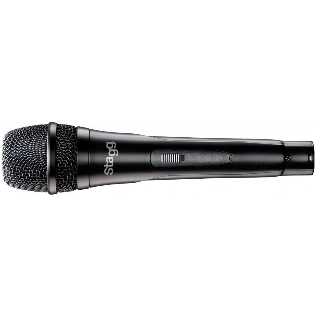Stagg SDMP30 Live Stage Cardoid Dynamic Microphone - with 3.5m XLR-Jack Cable