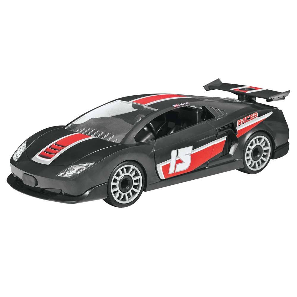 Revell Racing Car Junior Plastic Model Kit - 1/20 Scale, Black