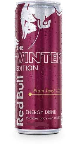 Red Bull Energy Drink, Plum Twist - 250 ml