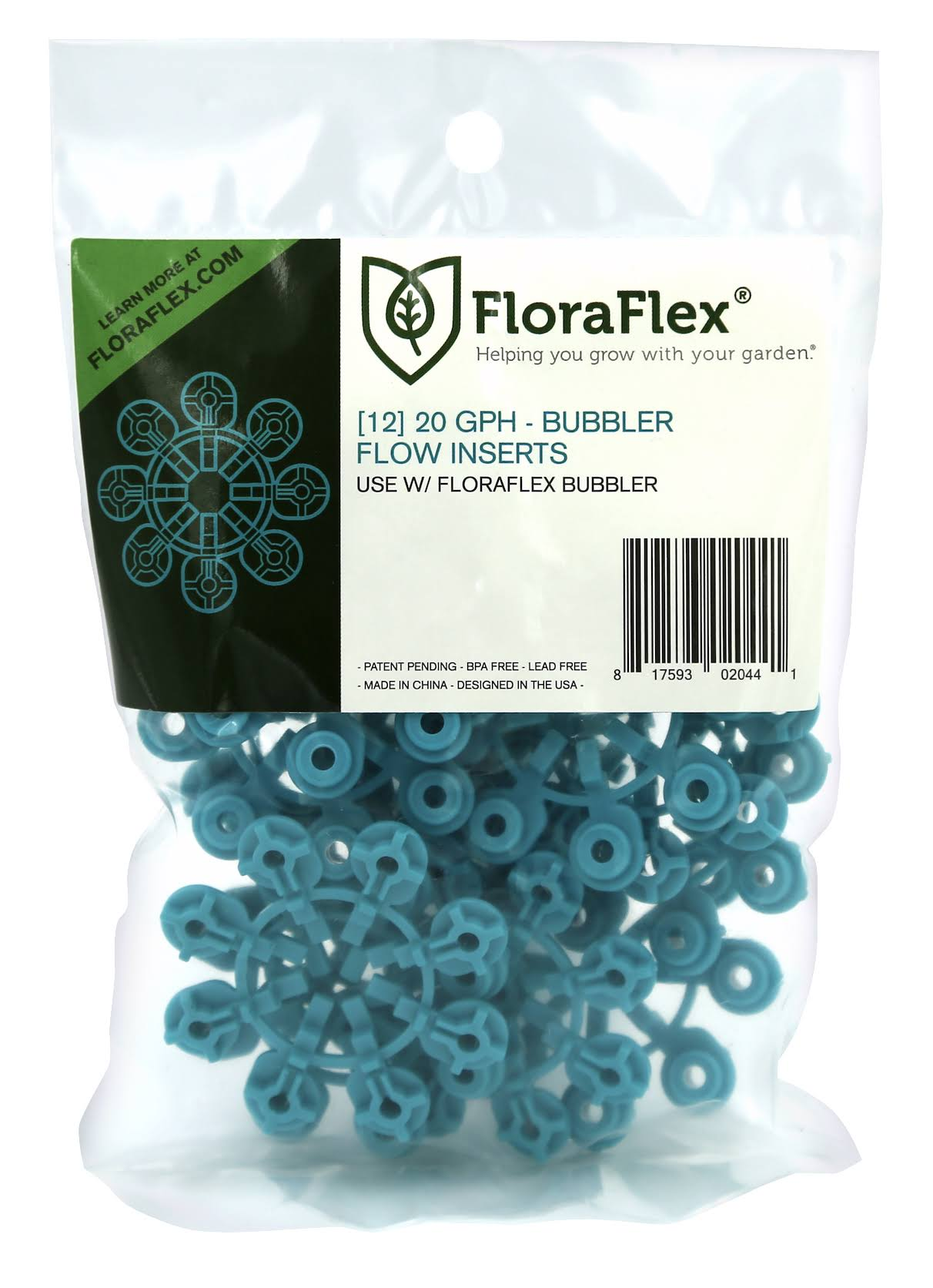 FloraFlex Bubbler Flow Insert - 12pcs
